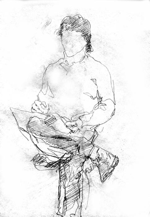 Рисунок богомолова