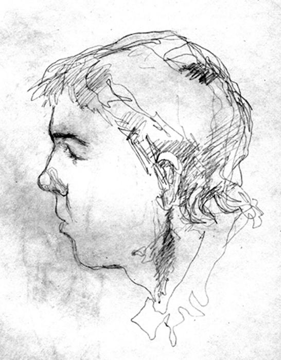 Фигура человека рисунок наброски